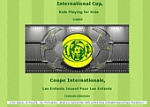 Kids International Cup Website created by Tuxxedo Studios.